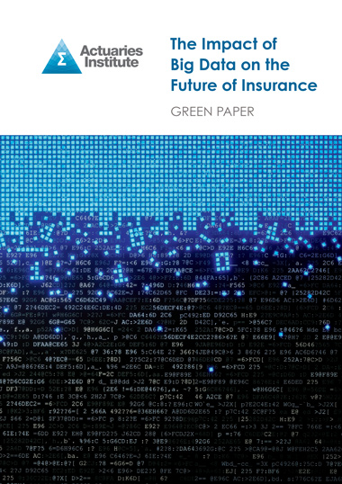 The Impact of Big Data on the Future of Insurance