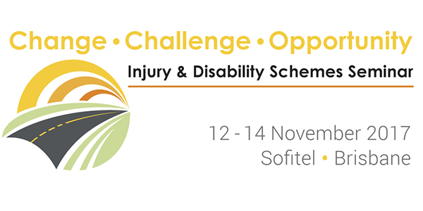 Registration is now open for the 2017 Injury and Disability Schemes Seminar. Register now before early bird closes!