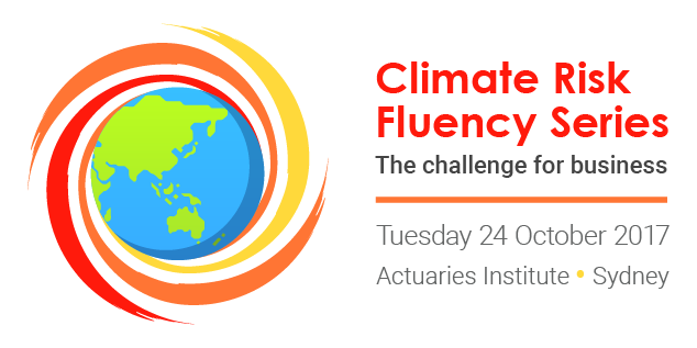 Inaugural Climate Risk Fluency Seminar on today!