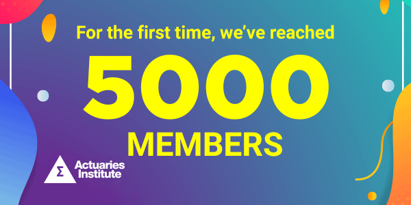 The Actuaries Institute has now reached 5000+ Members!