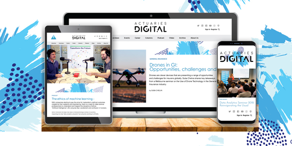 Visit the leading actuarial publication in Australia: Actuaries Digtial - now with a new look!