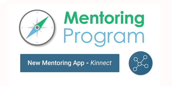 Get Kinnected! Download the new Mentoring App for a personalised matching experience with a Mentor or Mentee