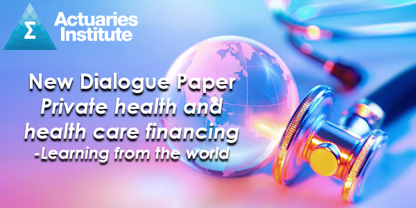 New Dialogue Paper: Private health and health care financing - Learning from the world