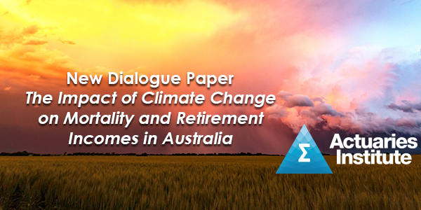 The Impact of Climate Change on Mortality and Retirement Incomes in Australia